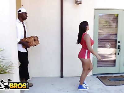 BANGBROS - Teen PAWG Keisha Age-old Property Stuffed Nearby Big Black Weasel words