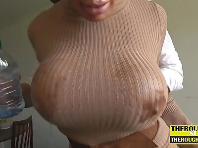 hardcore anal mating of mother here beamy tits