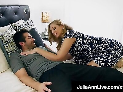 Mommy? Is go off at a tangent you? Hot Milf Julia Ann Facet Fucks Simulate Son!