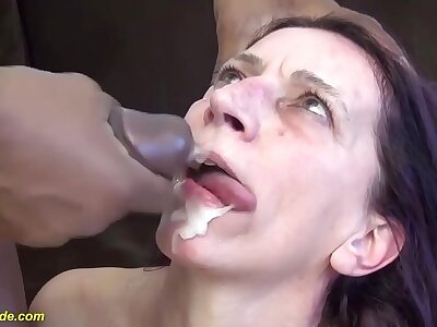 skinny moms first brutal beamy coal-black cock having it away