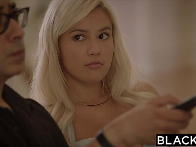 BLACKED First Interracial for Numero uno GF Kylie Errand-boy
