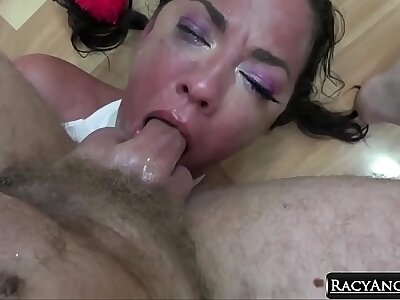 Adorable Order of the day Cutie Amara Romani Gives Her Vest-pocket-sized Body For Deepthroat Face Fucking n Hardcore Anal Reaming By Bryan Gozzling